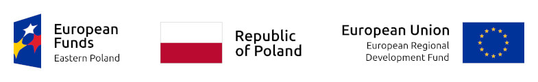 European Funds Eastern Poland, Republic of Poland, European Union - European Regional Development Fund
